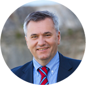 The official image of Prof Robert Kolundžić MD PhD, The President of the Organisation Committee of SEEFORT